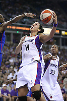 3 September 2006: Former Stanford basketball player and current Sacramento Monarch Nicole Powell during the 2006 WNBA Finals Game 3 against the Detroit Shock at Arco Arena in Sacramento, CA.