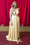 © Licensed to London News Pictures . 16/05/2015 .  The Palace Hotel , Manchester , UK . Catherine Tyldesley . The red carpet at the 2015 British Soap Awards , The Palace Hotel , Oxford Road , Manchester . Photo credit : Joel Goodman/LNP