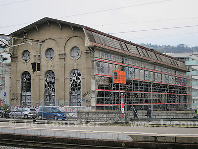 Vevey, 15.02.2016<br /> Anciens ateliers m&eacute;caniques<br /> &copy; Mario Togni / Le Courrier