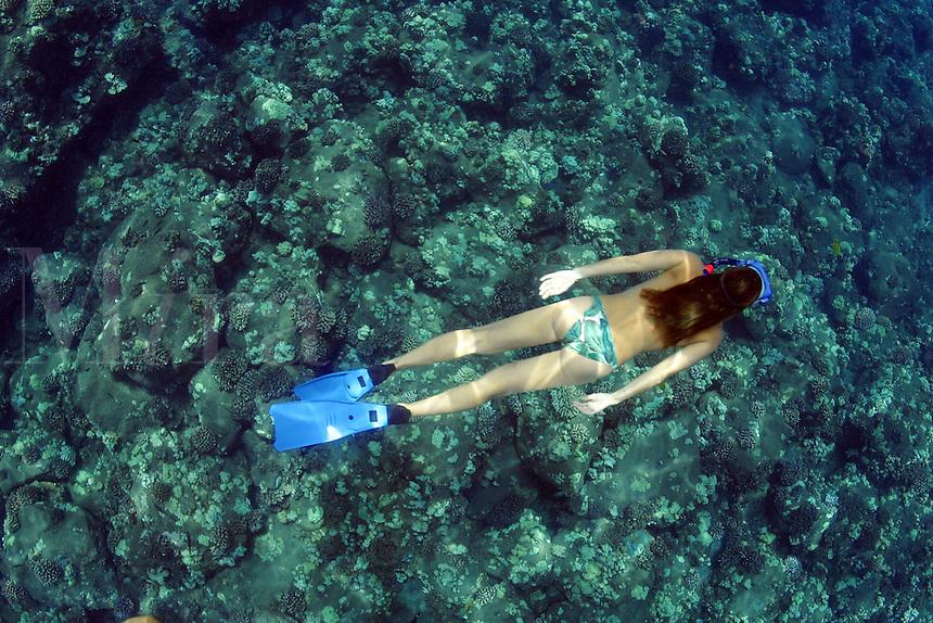 FREEDIVING WOMEN (MR). HAWAII.