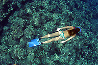FREEDIVING WOMEN (MR). HAWAII.