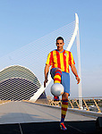France's Adel Rami presented as new Valencia CF player for season 2011/2012...Photo: Alberto Saiz / ALFAQUI
