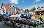 Gietrzwałd, 19.07.2015. Sanktuarium Maryjne w Gietrzwałdzie - dom pielgrzyma.