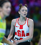 29/10/17 Fast5 2017<br /> Fast 5 Netball World Series<br /> Hisense Arena Melbourne<br /> Australia v England <br /> <br /> Helen Housby<br /> <br /> <br /> Photo: Grant Treeby