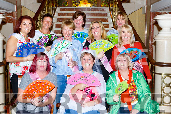 Martina O'Donovan, Millstreet seated centre celebrated her hen party with her gal pals in the Plaza Hotel on Saturday