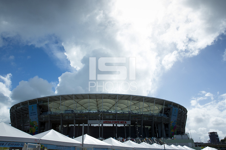 General view of the Salvador Stadium Arena Fonte Nova
