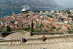 View of Kotor from St Roko position