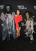 BUENA PARK, CA - SEPTEMBER 29: Isabela Moner, at Knott's Scary Farm & Instagram's Celebrity Night at Knott's Berry Farm in Buena Park, California on September 29, 2017. Credit: Faye Sadou/MediaPunch