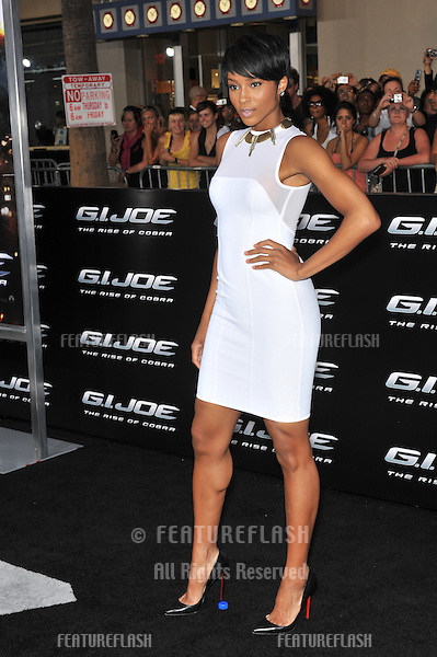 "Ciara at the Los Angeles premiere of ""G.I. Joe: The Rise of Cobra"" at Grauman's Chinese Theatre, Hollywood..August 6, 2009  Los Angeles, CA.Picture: Paul Smith / Featureflash"