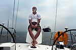 Commander Dilip Donde completed a solo circumnavigation aboard the 56 foot Mhadei in 2010. In 2012, his prot&eacute;g&eacute;, Lieutenant Commander Abhilash Tomy is completed this journey non-stop. He is the 1st Indian and about the 80th person in the world to have accomplished this.<br /> Before his departure from Mumbai, the boat had to be brought from Goa. I travelled with Commander Dilip Donde &amp; Lieutenant Commander Abhilash Tomy on this journey.