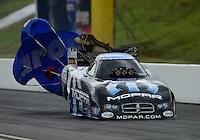 Jun. 17, 2012; Bristol, TN, USA: NHRA funny car driver Matt Hagan during the Thunder Valley Nationals at Bristol Dragway. Mandatory Credit: Mark J. Rebilas-
