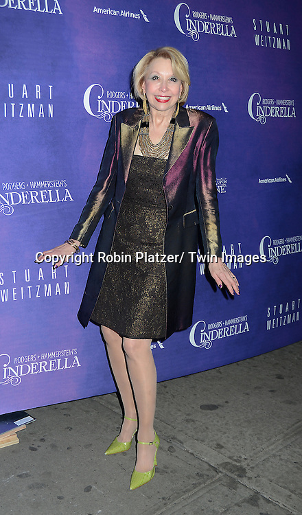 Julie Halston attends Rogers +  Hammerstein's Cinderella Broadway Opening night on March 3, 2013 at the Broadway Theatre in New York City.
