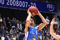 Tai Webster (Fraport Skyliners) wirft - 18.11.2017: Fraport Skyliners vs. ratiopharm Ulm, Fraport Arena Frankfurt