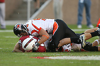 18 November 2006: Jay Ottovegio rushes for a first down during Stanford's 30-7 loss to Oregon State at Stanford Stadium in Stanford, CA.