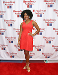 Rashidra Scott attends the 8th Annual Broadway Salutes Presentation at Shubert Alley on September 20, 2016 in New York City.