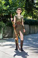 Huntress Lavellan, Lady Vixus Cosplay, Pax West Seattle, WA, USA.