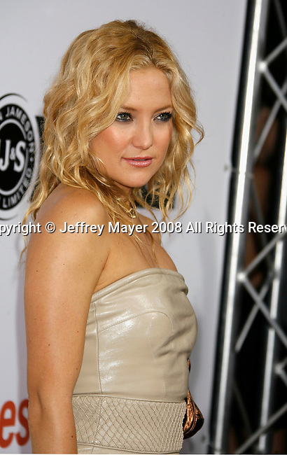 "HOLLYWOOD, CA. - September 15: Actress Kate Hudson arrives at the world premiere of ""My Best Friend's Girl"" at The Arclight Hollywood on September 15, 2008 in Hollywood, California."