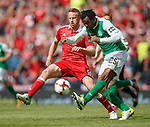 Adam Rooney and Efe Ambrose