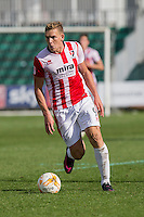 Danny Wright of Cheltenham during the Sky Bet League 2 match between Newport County and Cheltenham Town at Rodney Parade, Newport, Wales on 10 September 2016. Photo by Mark  Hawkins / PRiME Media Images.