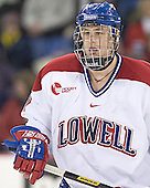 Brad King - The University of Massachusetts-Lowell River Hawks defeated the Boston College Eagles 6-3 on Saturday, February 25, 2006, at the Paul E. Tsongas Arena in Lowell, MA.
