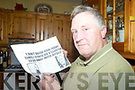 CONDITION: Humphrey O'Connor of Kells who has suffered for many years with M.E. or Chronic Fatigue Syndrome. This is M.E. Awareness Week.   Copyright Kerry's Eye 2008