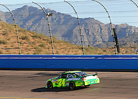 Apr 10, 2008; Avondale, AZ, USA; NASCAR Sprint Cup Series driver Jeff Gordon during qualifying for the Subway Fresh Fit 500 at Phoenix International Raceway. Mandatory Credit: Mark J. Rebilas-