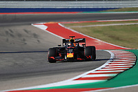2nd November 2019; Circuit of the Americas, Austin, Texas, United States of America; Formula 1 United Sates Grand Prix, qualifying day; Aston Martin Red Bull Racing, Max Verstappen - Editorial Use
