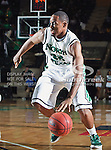 North Texas Mean Green forward Roger Franklin (32) in action during the NCAA  basketball game between the St. Gregory Cavilers and the University of North Texas Mean Green at the North Texas Coliseum,the Super Pit, in Denton, Texas. UNT defeated St. Gregory's 81 to 52...