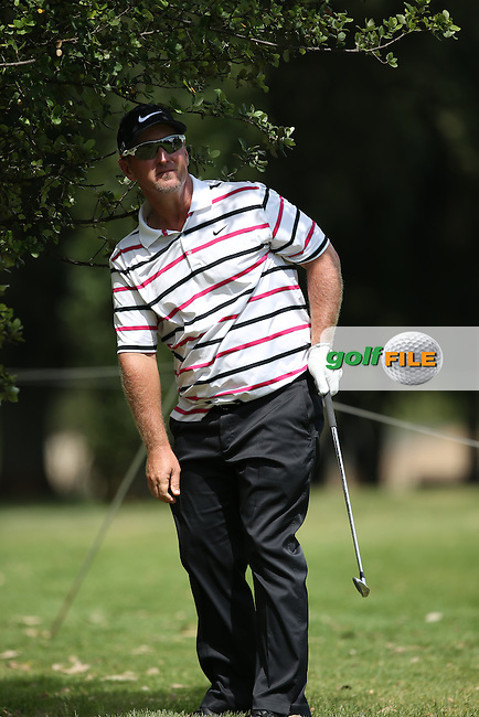 David Duval (USA) out of the rough during the practice day at the SA Open Championship 2013 at the Glendower Golf Club, Johannesburg, South Africa. Picture:  David Lloyd / www.golffile.ie