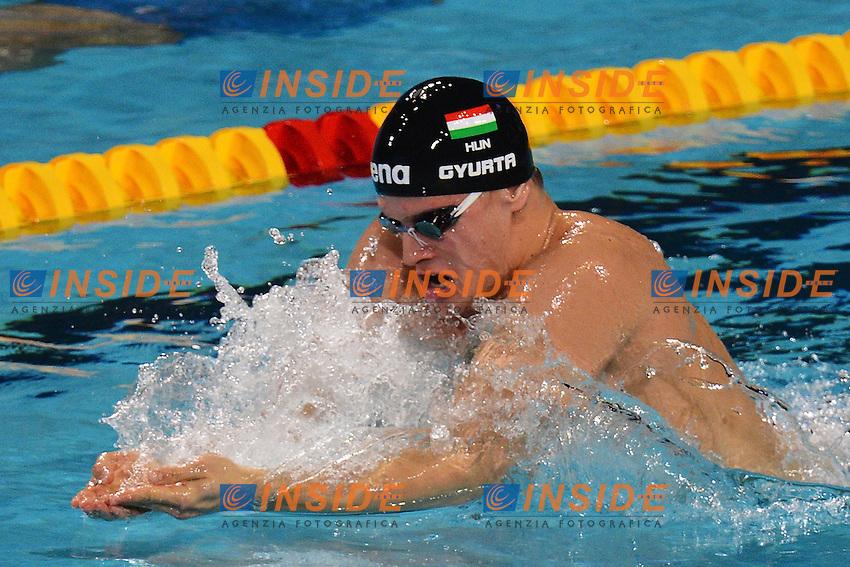 Daniel Gyurta Hungary Men's 200m Breaststroke .Istanbul 14/12/2012 Sinan Erdem Dome.World Swimming Championships Short course 25m Nuoto Istanbul.Foto Andrea Staccioli Insidefoto