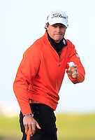 Peter Uihlein (USA) during the final round of the Alfred Dunhill links Championship Old Course, St Andrews, Fife, Scotland.<br /> Picture Fran Caffrey www.golffile.ie