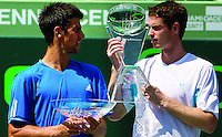 Murray and Djokovic..International Tennis ..Frey,  Advantage Media Network, Barry House, 20-22 Worple Road, London, SW19 4DH