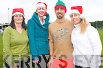 The 5th annual Puck Warriors Jingle Run will take place this Saturday at 11am. .L-R Rosemary Griffin, Chiara McGrath, Marek Czerniak and Aine Fitzgerald.