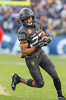 Baltimore, MD - December 10, 2016: Army Black Knights running back PaulAndrew Rhoden (23) in action during game between Army and Navy at  M&T Bank Stadium in Baltimore, MD.   (Photo by Elliott Brown/Media Images International)