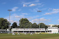 General view of play on day one during Essex CCC vs Glamorgan CCC, Specsavers County Championship Division 2 Cricket at the Essex County Ground on 12th September 2016