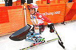 Momoka Muraoka (JPN), <br /> MARCH 14, 2018 - Alpine Skiing : <br /> Women's Giant Slalom Sitting <br /> at Jeongseon Alpine Centre  <br /> during the PyeongChang 2018 Paralympics Winter Games in Pyeongchang, South Korea. <br /> (Photo by Sho Tamura/AFLO SPORT)