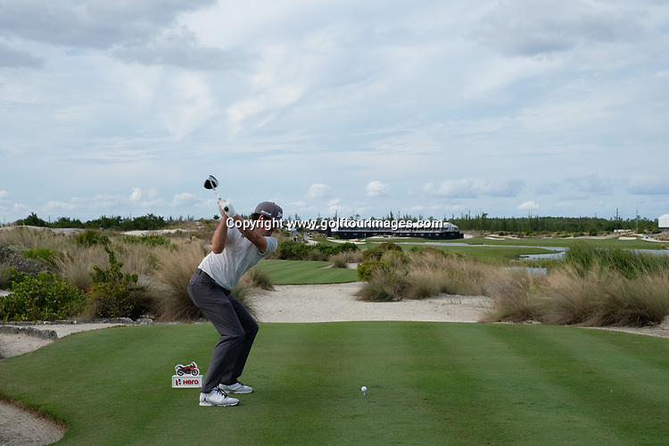 Keegan Bradley during the second round of the 2018 Hero World Challenge being played at The Albany Resort, Bahamas.<br />  Picture Stuart Adams, www.golftourimages.com: \30/11/2018\