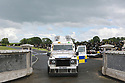 Police seal off the grounds of St. Coleman's Cemetery, Lurgan, Monday, June 17th, 2019. (Photo by Paul McErlane for the Belfast Telegraph) Army Bomb Disposal team are seen inthe grounds of St. Coleman's Cemetery, Lurgan, Monday, June 17th, 2019. (Photo by Paul McErlane)