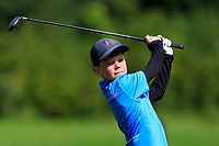 Jack Forde (Athenry) on the 1st tee during the Connacht U12, U14, U16, U18 Close Finals 2019 in Mountbellew Golf Club, Mountbellew, Co. Galway on Monday 12th August 2019.<br /> <br /> Picture:  Thos Caffrey / www.golffile.ie<br /> <br /> All photos usage must carry mandatory copyright credit (© Golffile | Thos Caffrey)