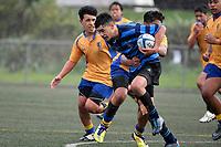 Hurricanes U14 Festival - Nelson College v Rongotai College at Wakefield Park, Wellington, New Zealand on Wednesday 2 September 2020. <br /> Photo by Masanori Udagawa. <br /> www.photowellington.photoshelter.com