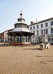 Sixteenth century market cross building at North Walsham, Norfolk, England