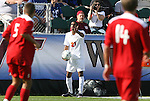 15 November 2009: Virginia's Shawn Berry. The University of Virginia Cavaliers defeated the North Carolina State University Wolfpack at WakeMed Stadium in Cary, North Carolina in the Atlantic Coast Conference Men's Soccer Tournament Championship game.