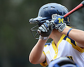 Michigan Wolverines batter during the season opener against the Florida Gators on February 8, 2014 at the USF Softball Stadium in Tampa, Florida.  Florida defeated Michigan 9-4 in extra innings.  (Copyright Mike Janes Photography)