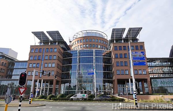 Nederland Zaandam 2018. Het hoofdkantoor van Albert Heijn. Ahold Delhaize. Foto Berlinda van Dam / Hollandse Hoogte