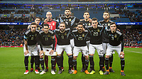 Argentina pre match team photo during the International Friendly match between Argentina and Italy at the Etihad Stadium, Manchester, England on 23 March 2018. Photo by Andy Rowland.
