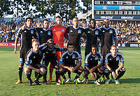 Santa Clara, California -Saturday, July 20 2013: San Jose Earthquakes defeated Norwich City  Norwich City FC of the English Premier League 1-0 in an international friendly at Buck Shaw Stadium
