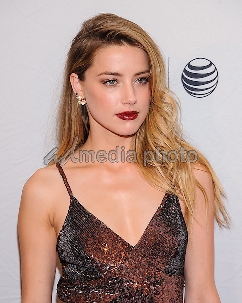 "18 April 2015 - New York, New York- Amber Heard. Tribeca Film Festival premiere of ""When I Live My Life Over Again"" Photo Credit: Mario Santoro/AdMedia"