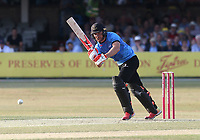 Laurie Evans hits 4 runs for Sussex during Essex Eagles vs Sussex Sharks, Vitality Blast T20 Cricket at The Cloudfm County Ground on 4th July 2018