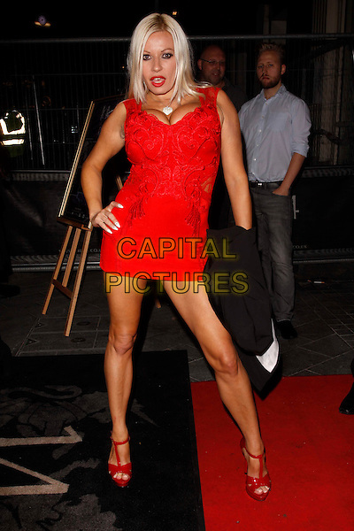 LONDON, ENGLAND - SEPTEMBER 27 :  Michelle Thorne arrives at the UKAP Awards 2016 at 14 Leicester Square on September 27, 2016 in London, England.<br /> The UK Adult Film and Television Awards (UKAFTAs) are annual awards ceremony for the UK adult industry (porn).<br /> CAP/AH<br /> &copy;AH/Capital Pictures