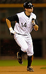 8 September 2006: Troy Tulowitzki, infielder for the Colorado Rockies, in action against the Washington Nationals. The Rockies defeated the Nationals 10-5 in a rain-delayed game at Coors Field in Denver, Colorado. ..Mandatory Photo Credit: Ed Wolfstein..